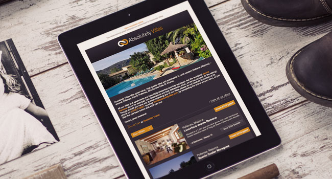 Travel agency email marketing